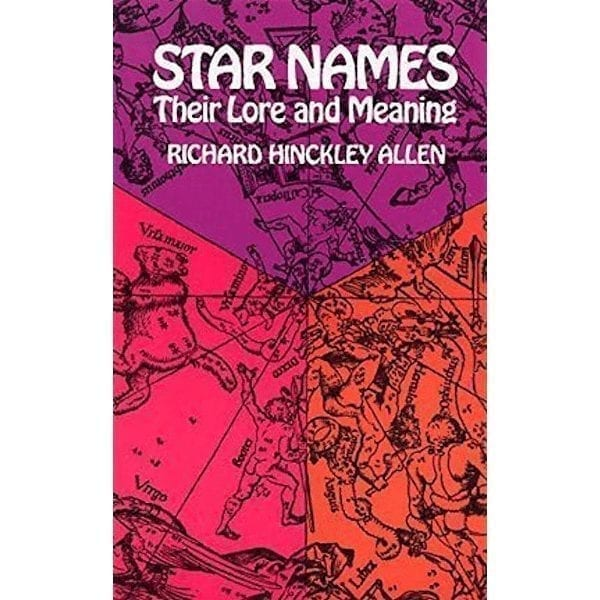 Star Names, Their Lore And Meaning