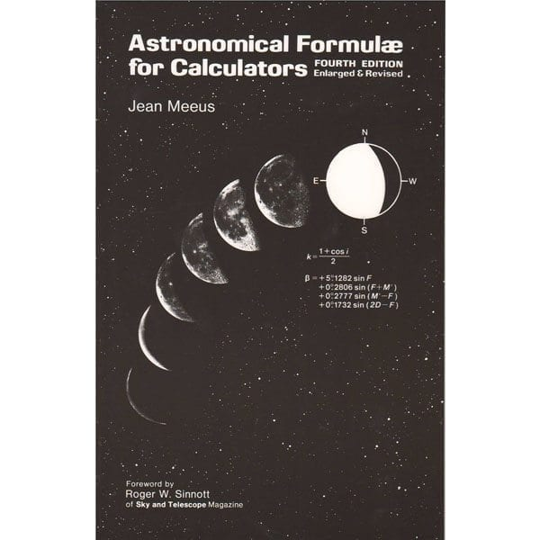 Astronomical Formulae For Calculators