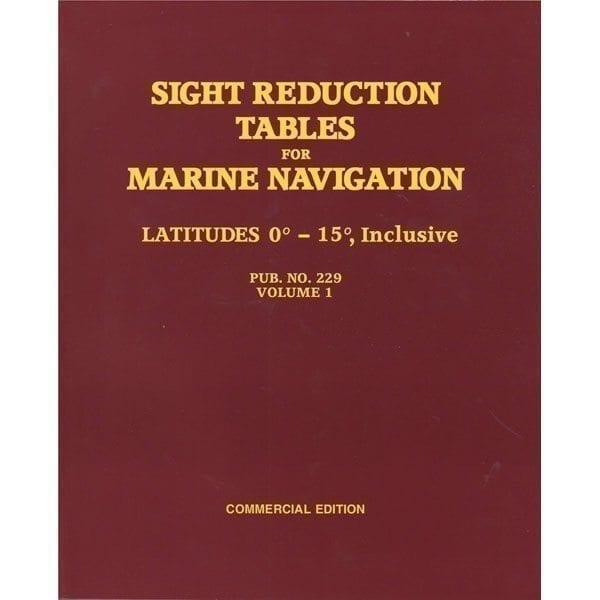 HO-229 Marine Navigation Volume I Latitudes 0-15