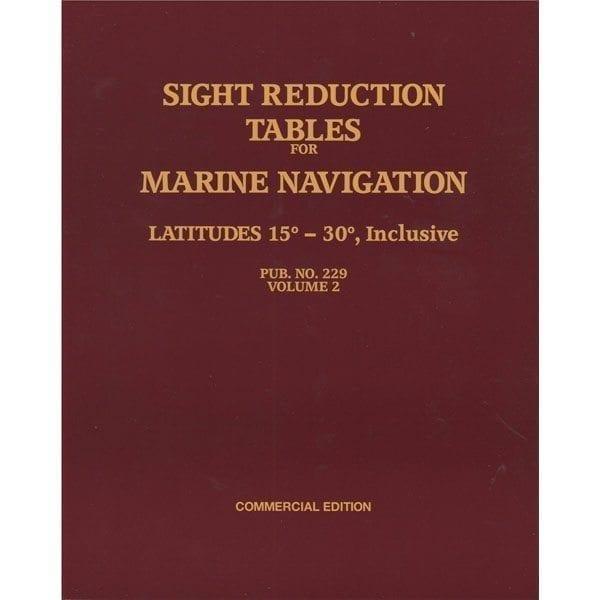 HO-229 Marine Navigation Volume II Latitudes 15-30