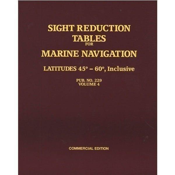 HO-229 Marine Navigation Volume IV Latitudes 45-60