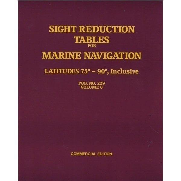 HO-229 Marine Navigation Volume VI Latitudes 75-90