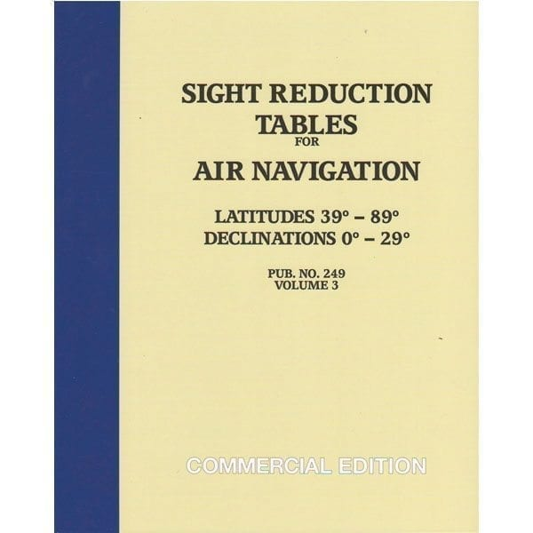 HO-249 Air Navigation Volume 3 Latitudes 39-89