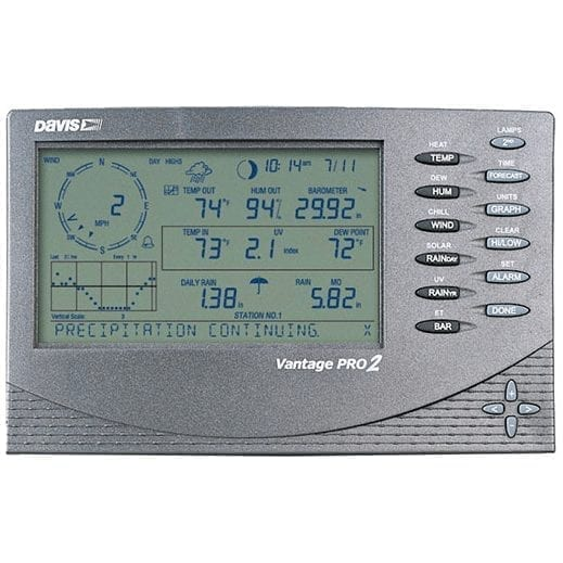 Davis Wireless Vantage Pro2 Plus Weather Station