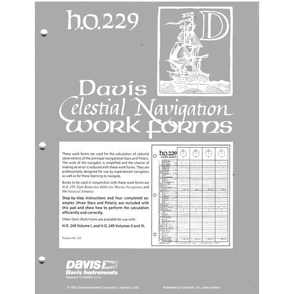 Davis Work Forms HO-229 All Vols