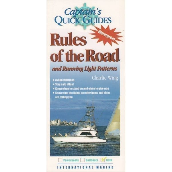 Captain's Quick Guides – Rules Of The Road