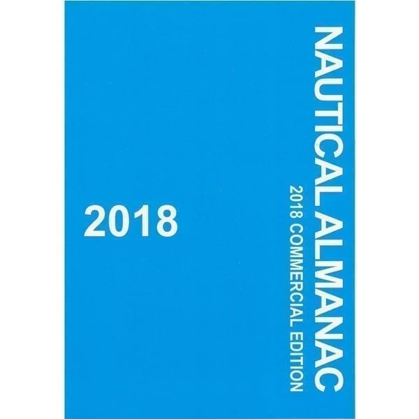 Nautical Almanac Commercial Edition – 2018