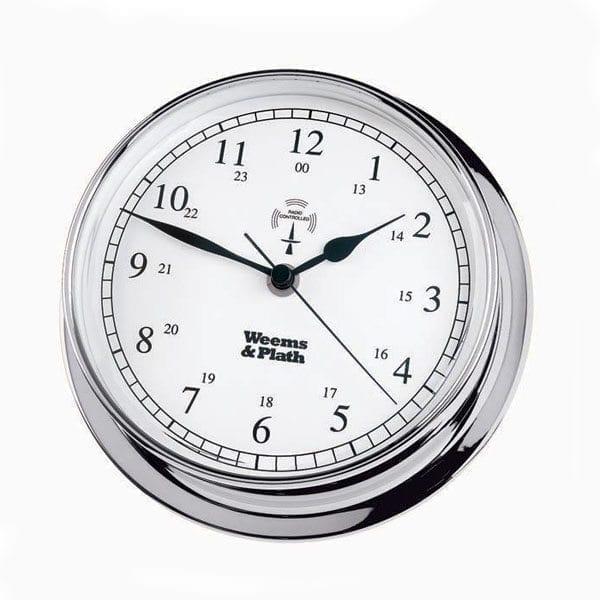 Chrome Radio Control Clock (Endurance 145)