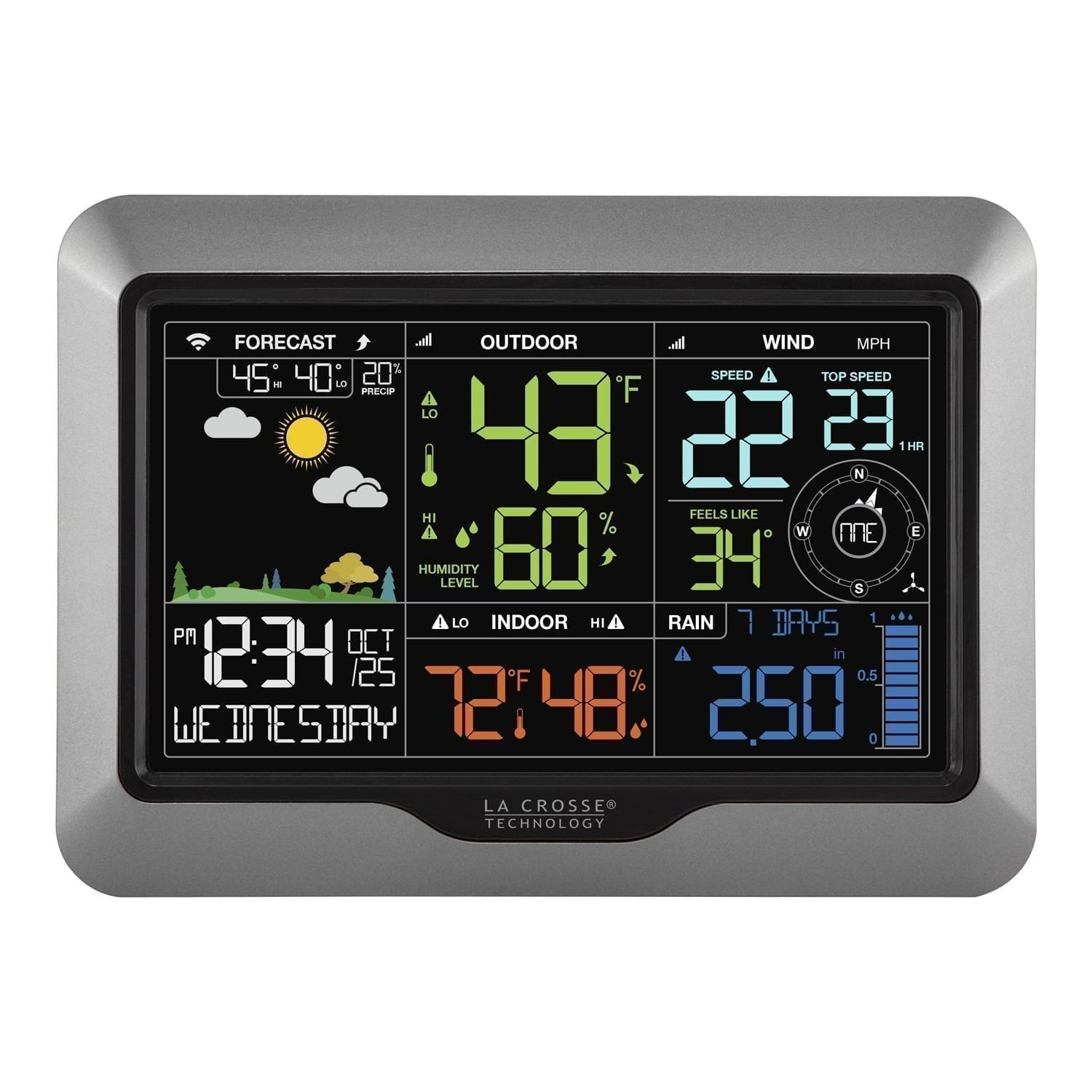 Smartphone Professional Monitored Weather Station