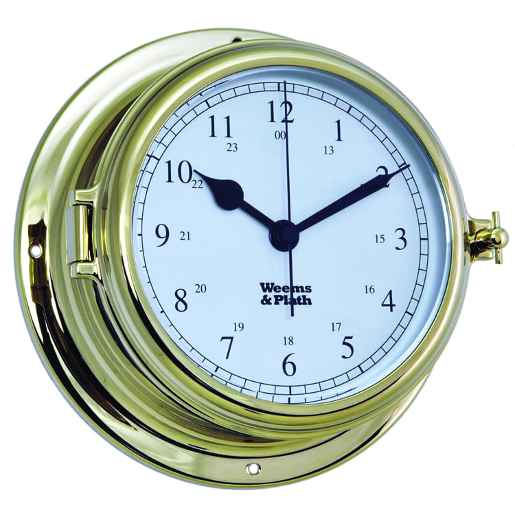 Weems & Plath Brass Clock (Endurance II 105)
