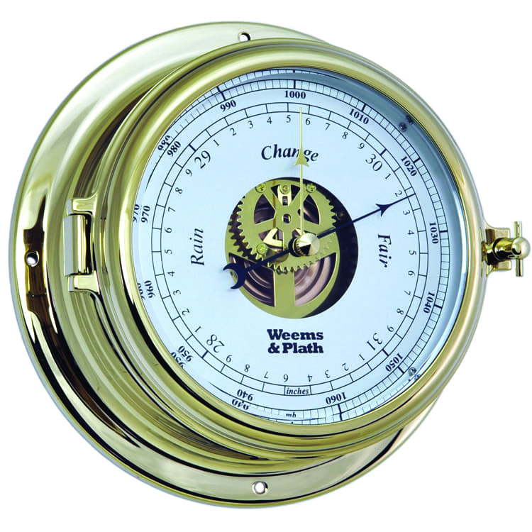 Weems & Plath Brass Barometer (Endurance II 105)