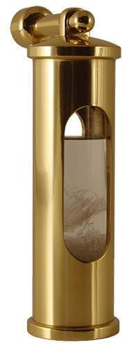 Brass Stormglass With Hook