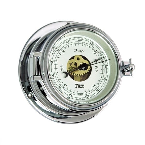 Weems & Plath Chrome Barometer (Endurance II 105)