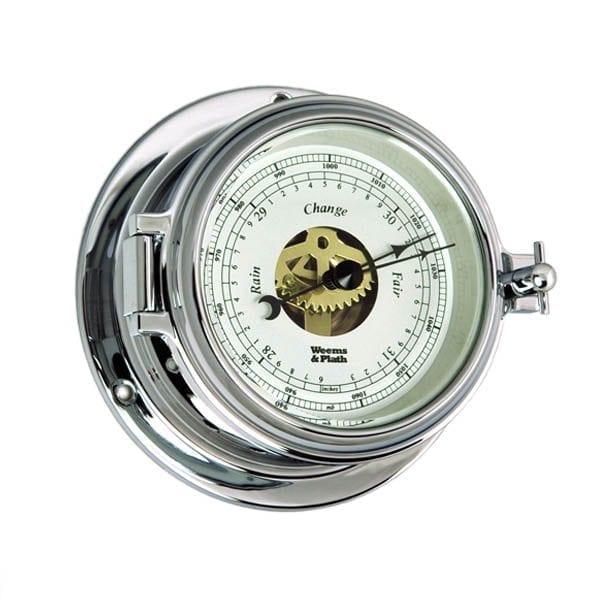 Weems & Plath Chrome Barometer (Endurance II 115)