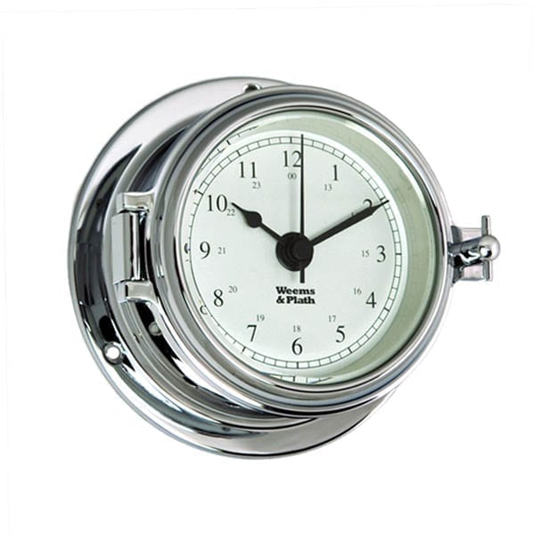 Weems & Plath Chrome Clock (Endurance II 105)
